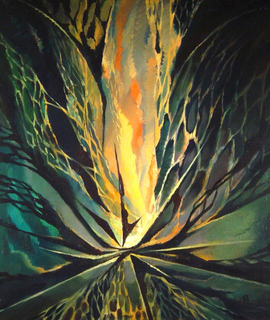 Stan Baele (kunstschilder) - Vuurvogel (Het Voorhang)