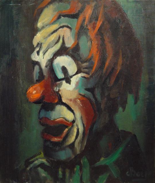 Stan Baele (kunstschilder) - Pipo de Clown