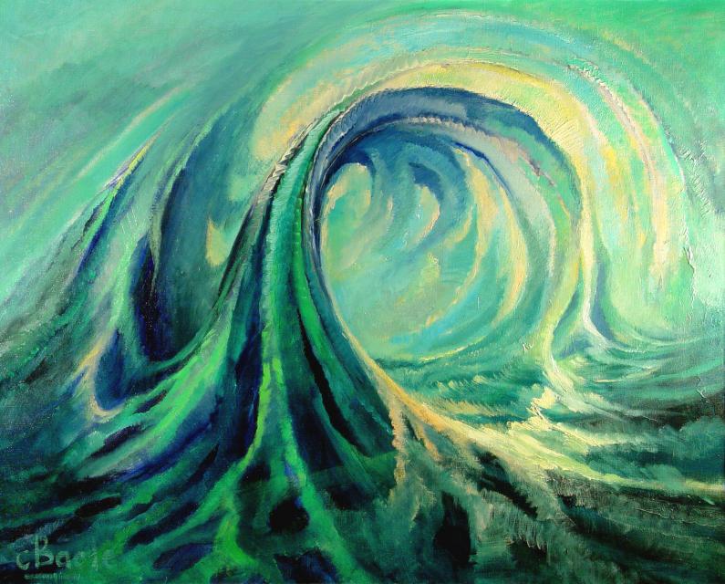 Stan Baele (kunstschilder) - Golfslag