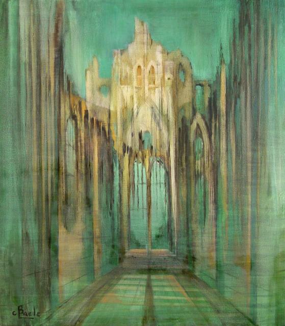 Stan Baele (kunstschilder) - Kathedraal - Rune