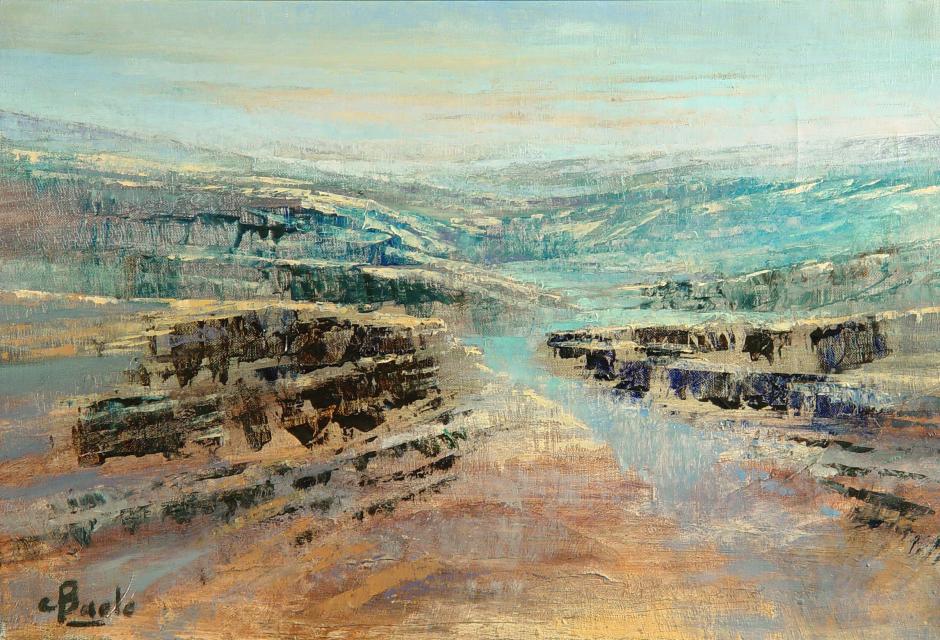 Stan Baele (kunstschilder) - Erosie