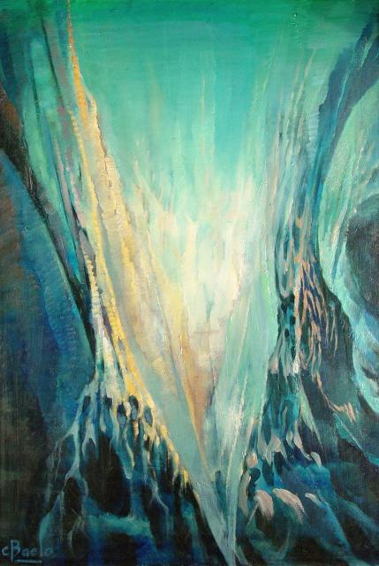 Stan Baele (kunstschilder) - Orpheus ' Harp