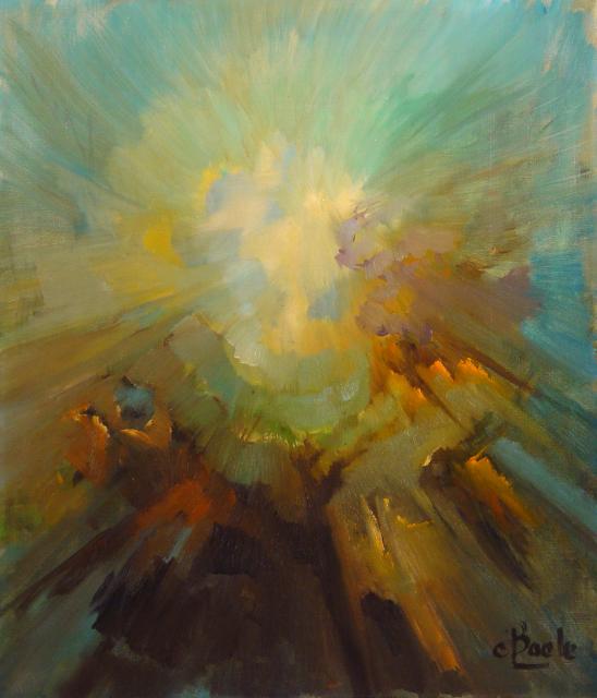 Stan Baele (kunstschilder) - Lichtexplosie