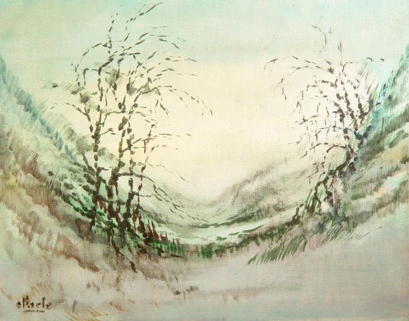 Stan Baele (kunstschilder) - Winter