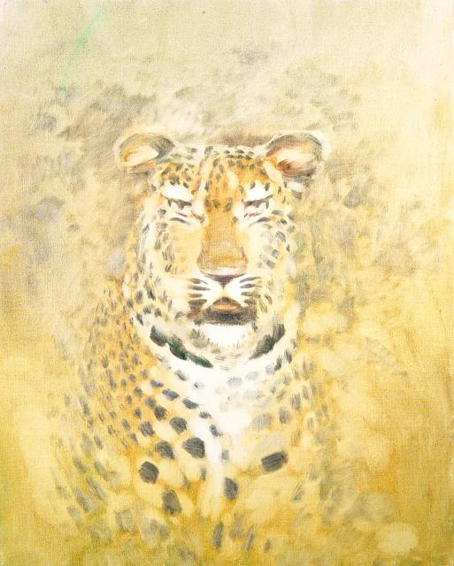 Stan Baele (kunstschilder) - Luipaard