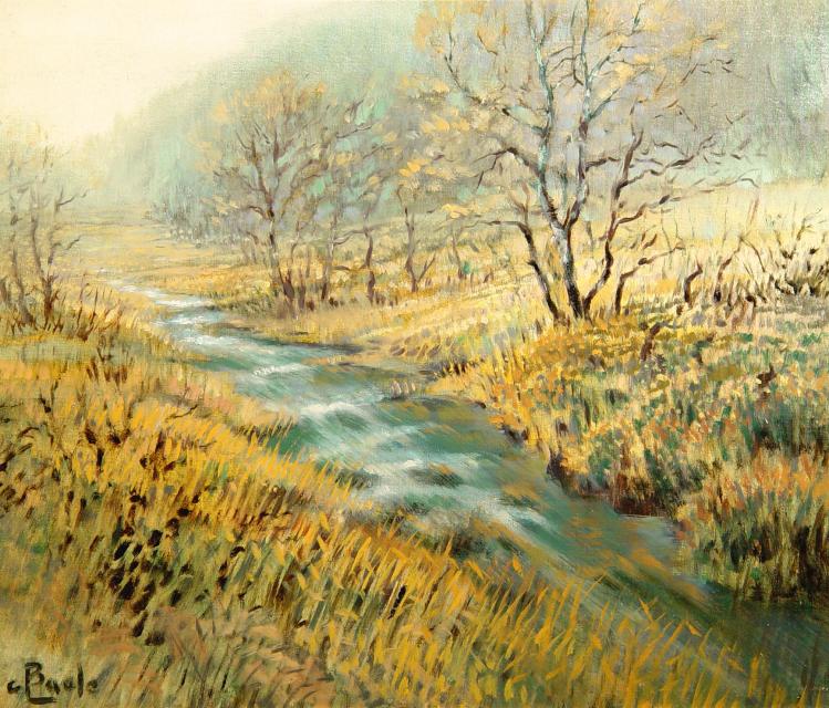 Stan Baele (kunstschilder) - Hautes Fagnes - De helle aan de Bongerd