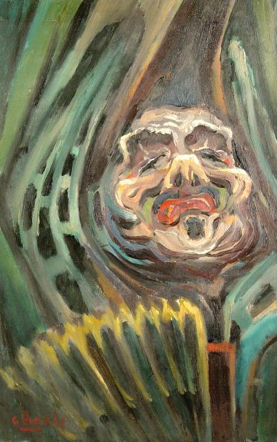 Stan Baele (kunstschilder) - Het lied van de clown