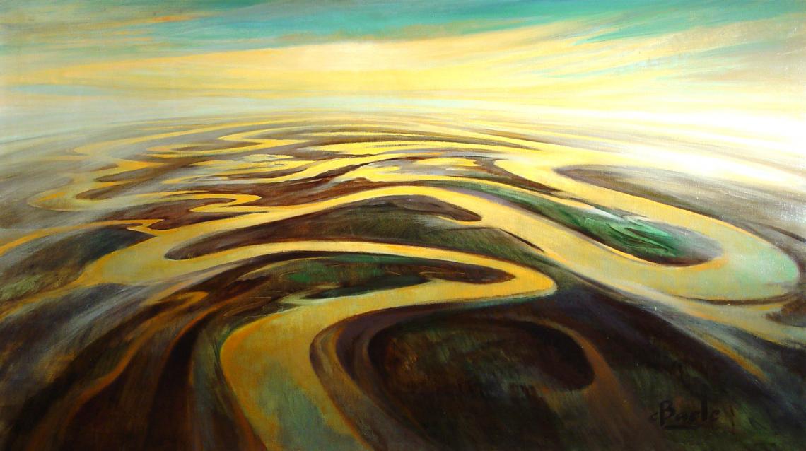 Stan Baele (kunstschilder) - Veelarmige Delta