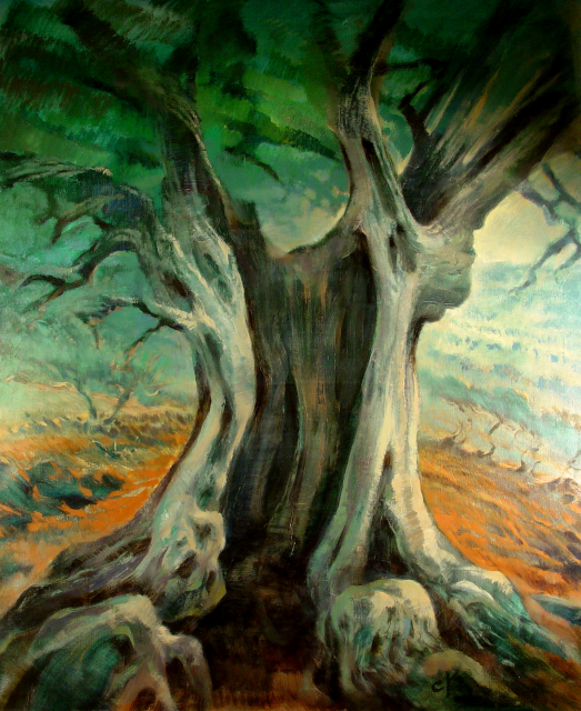 Stan Baele (kunstschilder) - 2000-jaar oude Olijf
