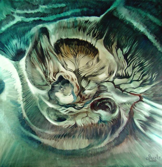 Stan Baele (kunstschilder) - Kosmisch Handschrift