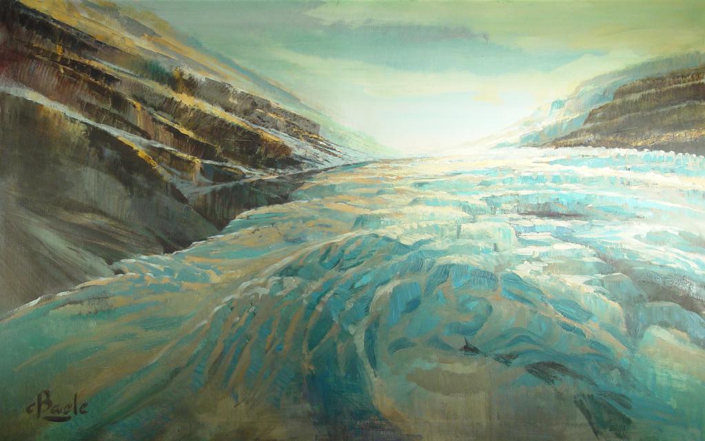 Stan Baele (kunstschilder) - Gletsjerwand