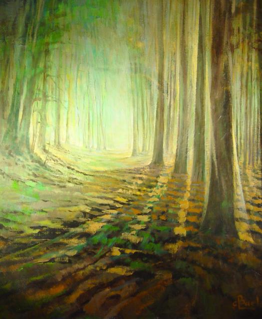 Stan Baele (kunstschilder) - Groen woud