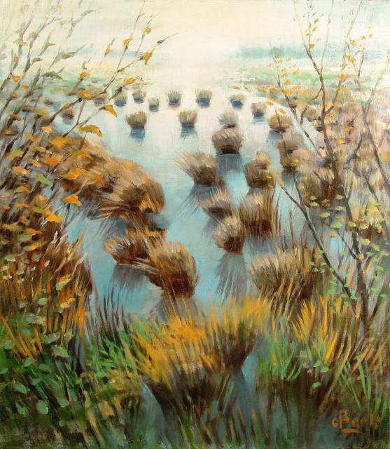 Stan Baele (kunstschilder) - Putse Moer - Heidereservaat