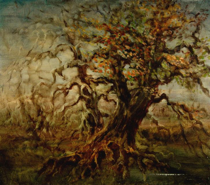 Stan Baele (kunstschilder) - Oude Eiken