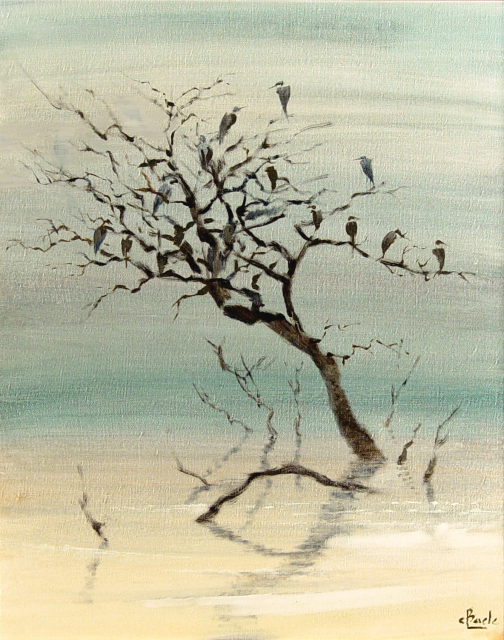 Stan Baele (kunstschilder) - Vogelboom