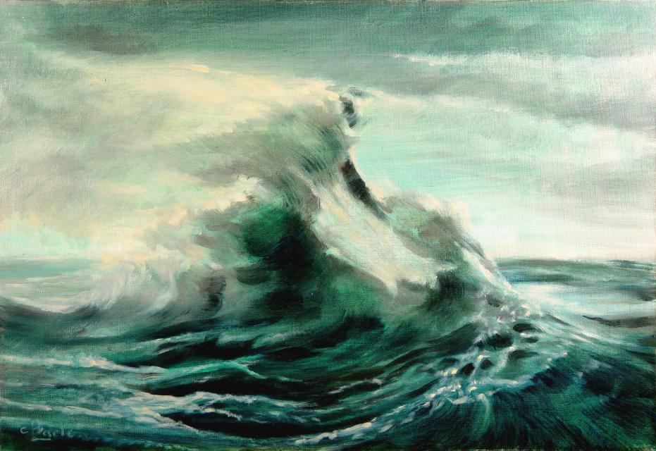 Stan Baele (kunstschilder) - Storm
