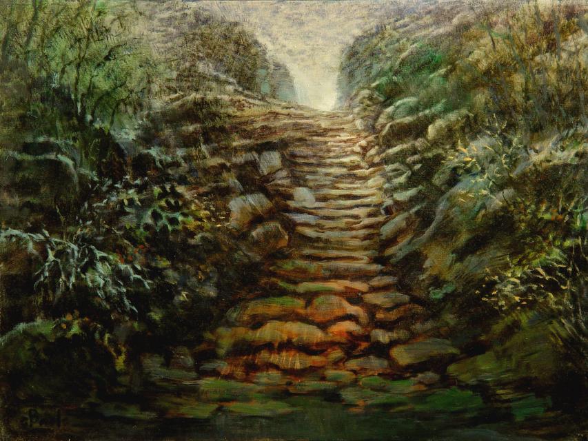 Stan Baele (kunstschilder) - Bospad