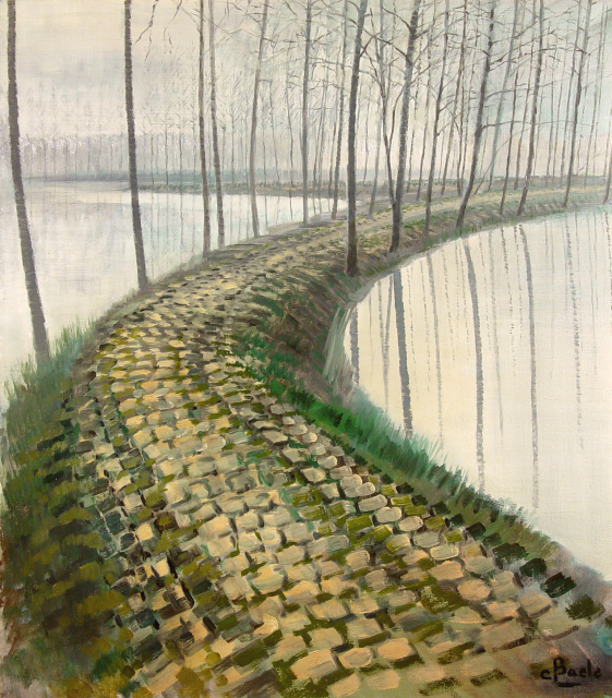 Stan Baele (kunstschilder) - Oude Poldersteenweg