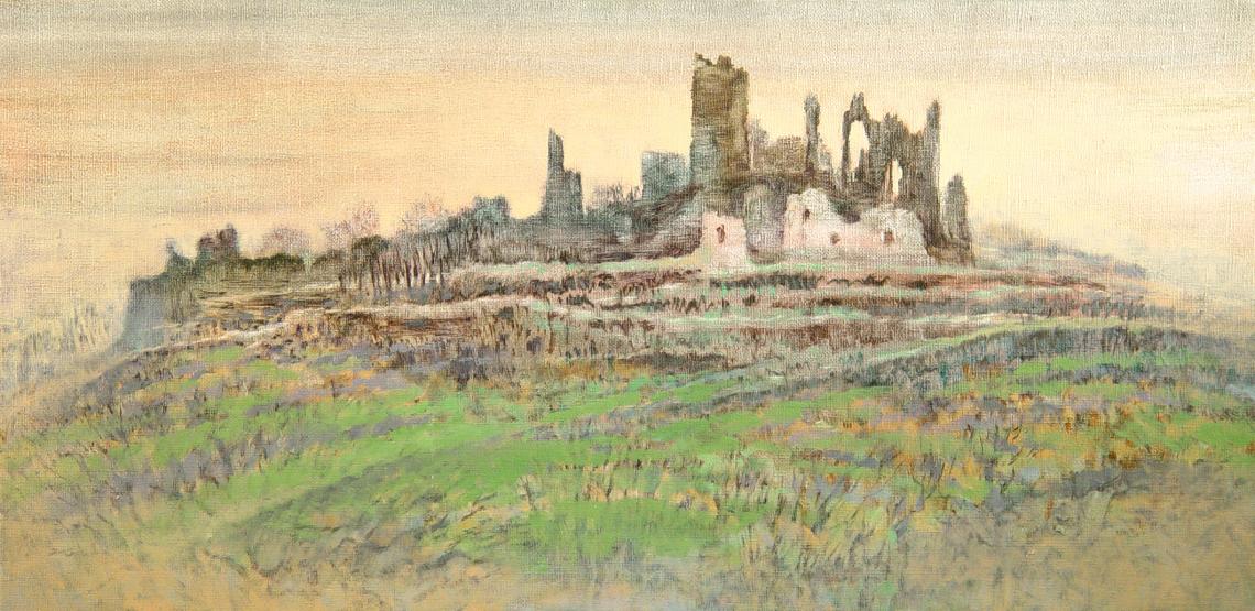 Stan Baele (kunstschilder) - Brandenburg (Luxemburg G.H.)