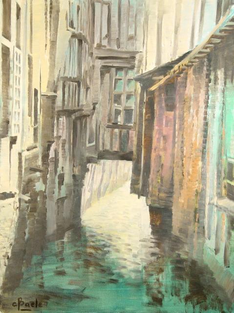 Stan Baele (kunstschilder) - Open Riool (Rouen)