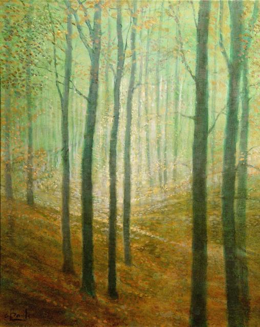 Stan Baele (kunstschilder) - Beukenbos
