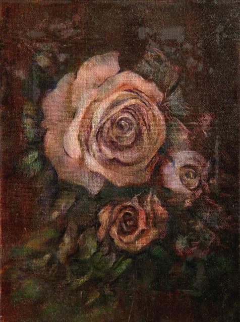 Stan Baele (kunstschilder) - Rozen VII