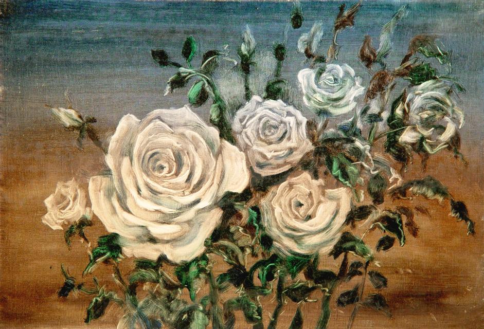 Stan Baele (kunstschilder) - Rozen VI