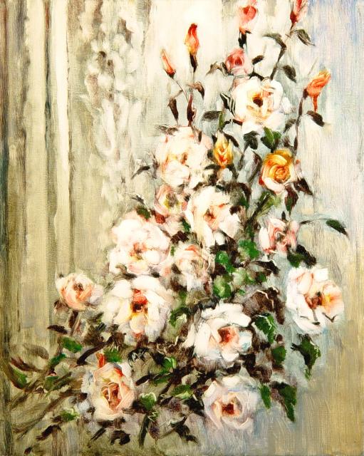 Stan Baele (kunstschilder) - Rozen II