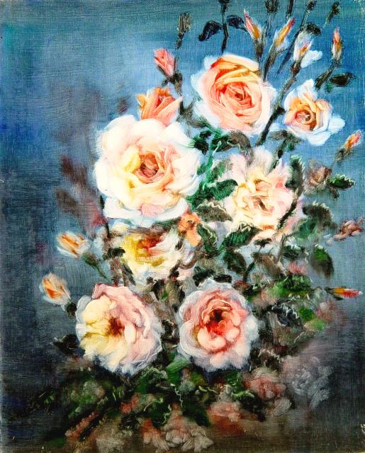 Stan Baele (kunstschilder) - Rozen I