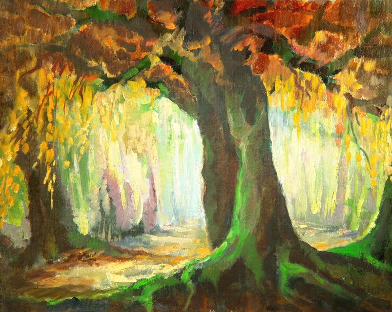 Stan Baele (kunstschilder) - Sprookjesbos