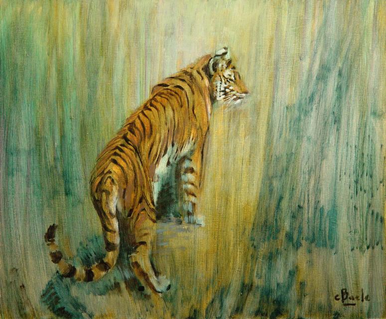 Stan Baele (kunstschilder) - Verscholen Tijger