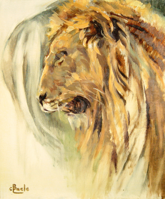 Stan Baele (kunstschilder) - Koning Leeuw