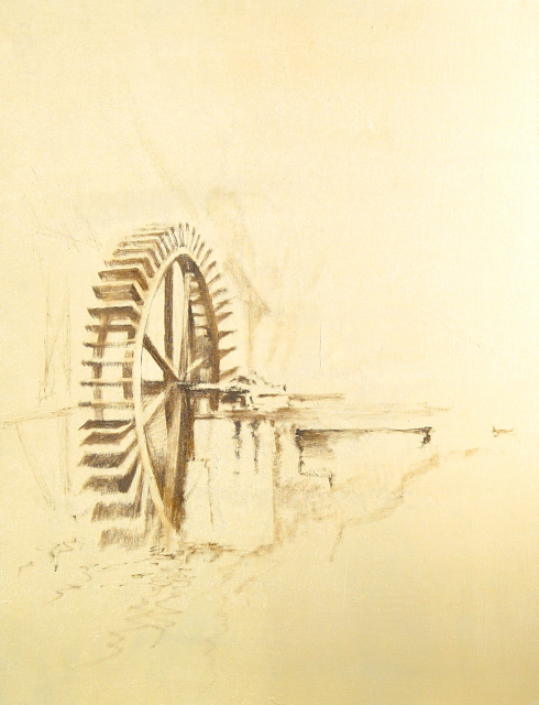 Stan Baele (kunstschilder) - Watermolen