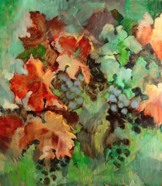 Stan Baele (kunstschilder) - Wijnranken