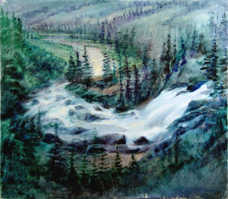 Stan Baele (kunstschilder) - Noors Landschap