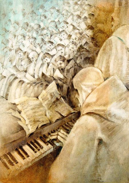 Stan Baele (kunstschilder) - Concerto (Apocalyps)