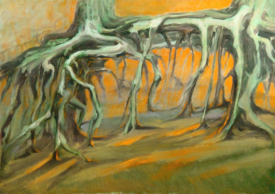Stan Baele (kunstschilder) - Vitrusdans