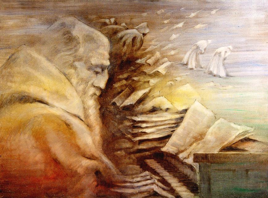 Stan Baele (kunstschilder) - Meditatie