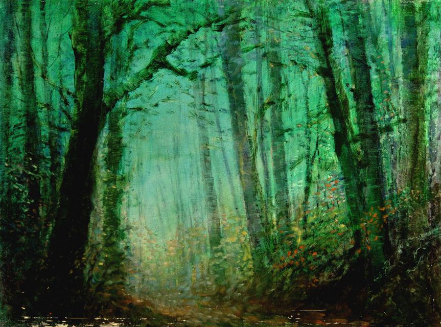 Stan Baele (kunstschilder) - Sumatra Regenwoud