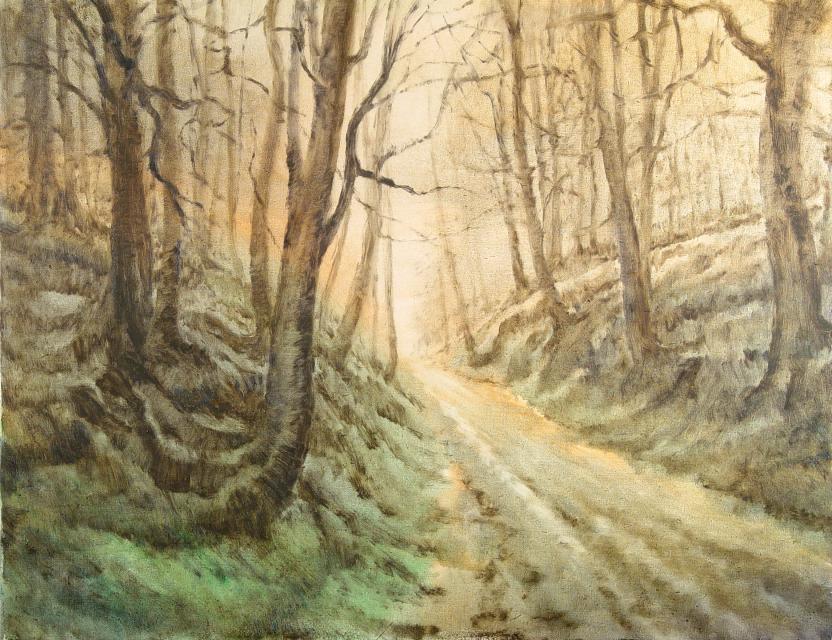 Stan Baele (kunstschilder) - Holle Weg