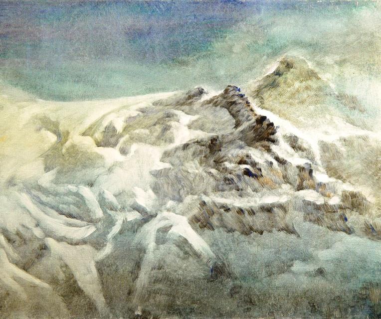 Stan Baele (kunstschilder) - Bergpanorama