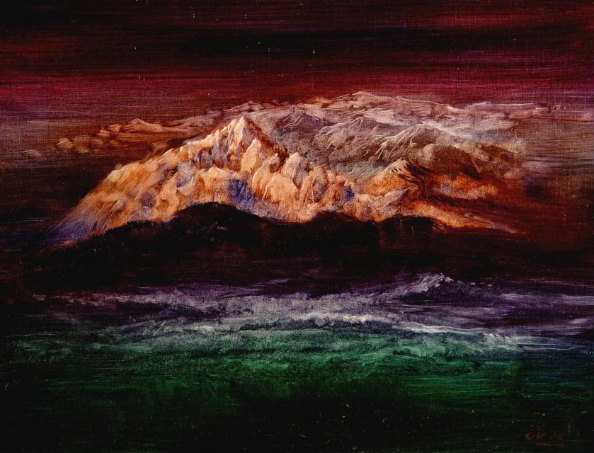 Stan Baele (kunstschilder) - Genesis - En het werd licht