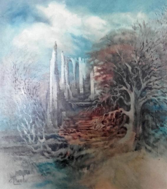 Stan Baele (kunstschilder) - Kloosterruimte