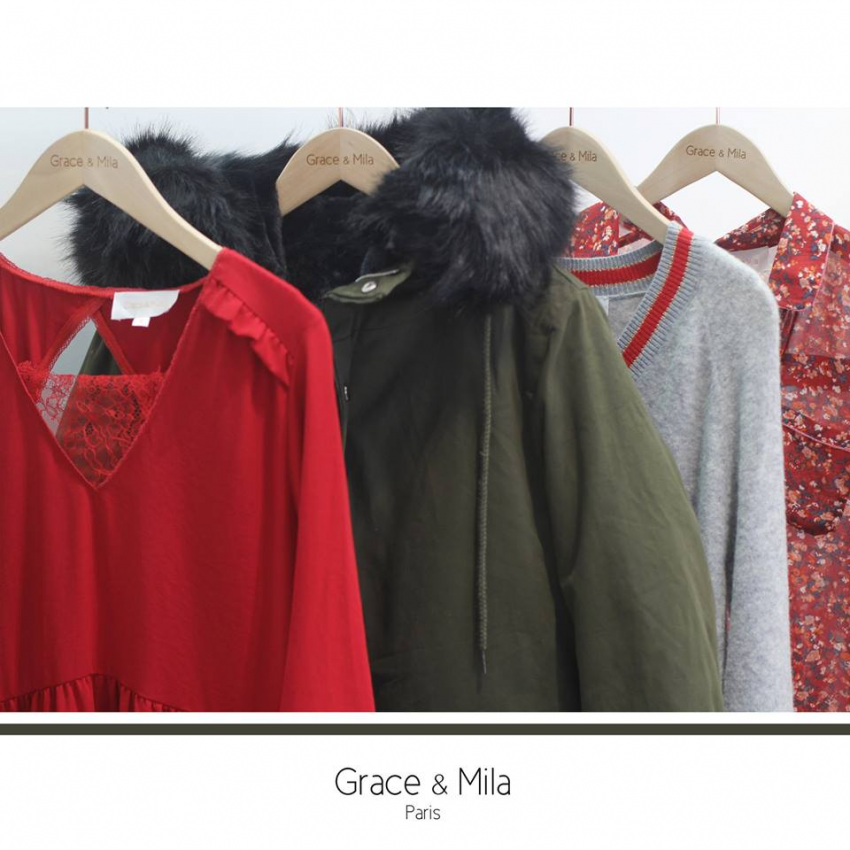 Grace & Mila fashion outfit
