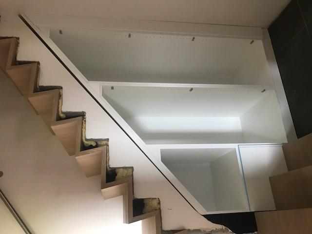 bergkast onder trap