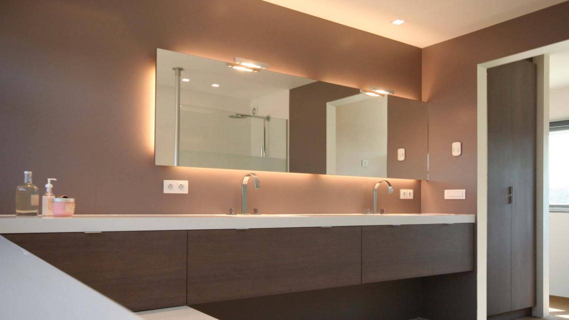 Volledige badkamer inrichting