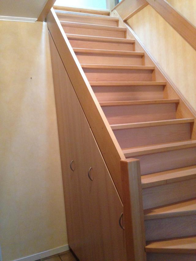 maatkast onder trap