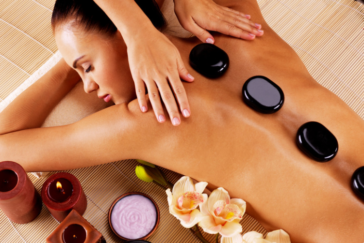 House of Beauty - foto Hot stone massage