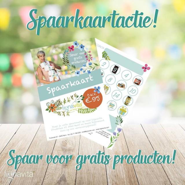 Zensation Actie - Lignavita spaarkaartactie - Spaar voor gratis producten