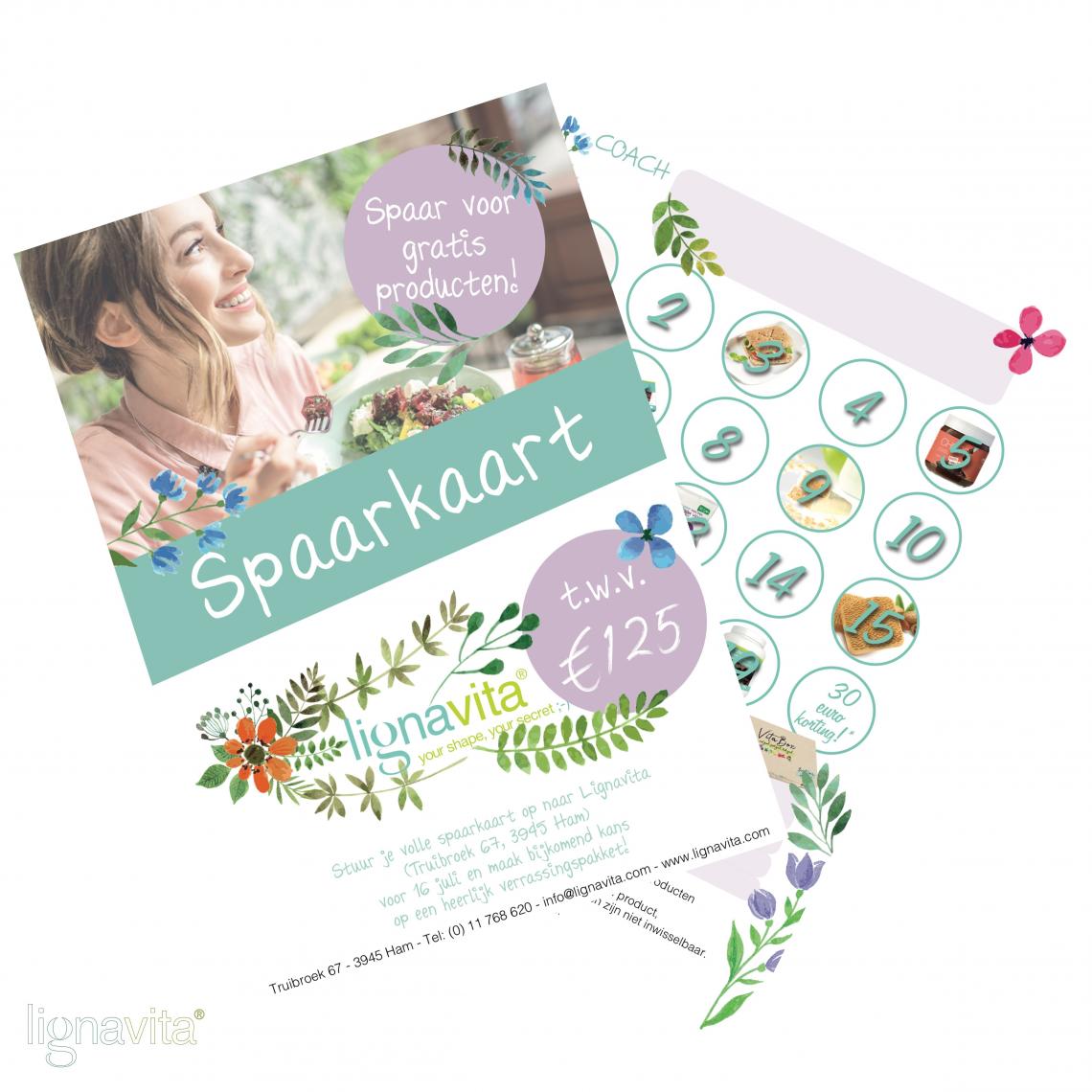 Zensation - foto Lignavita spaarkaartactie - Spaar voor gratis producten